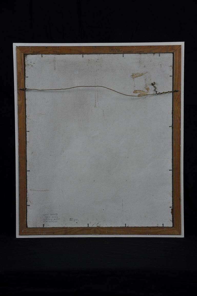 Enigma. Original Oil Painting. Eccentric & Bohemian. Modern British. Welsh. For Sale 1