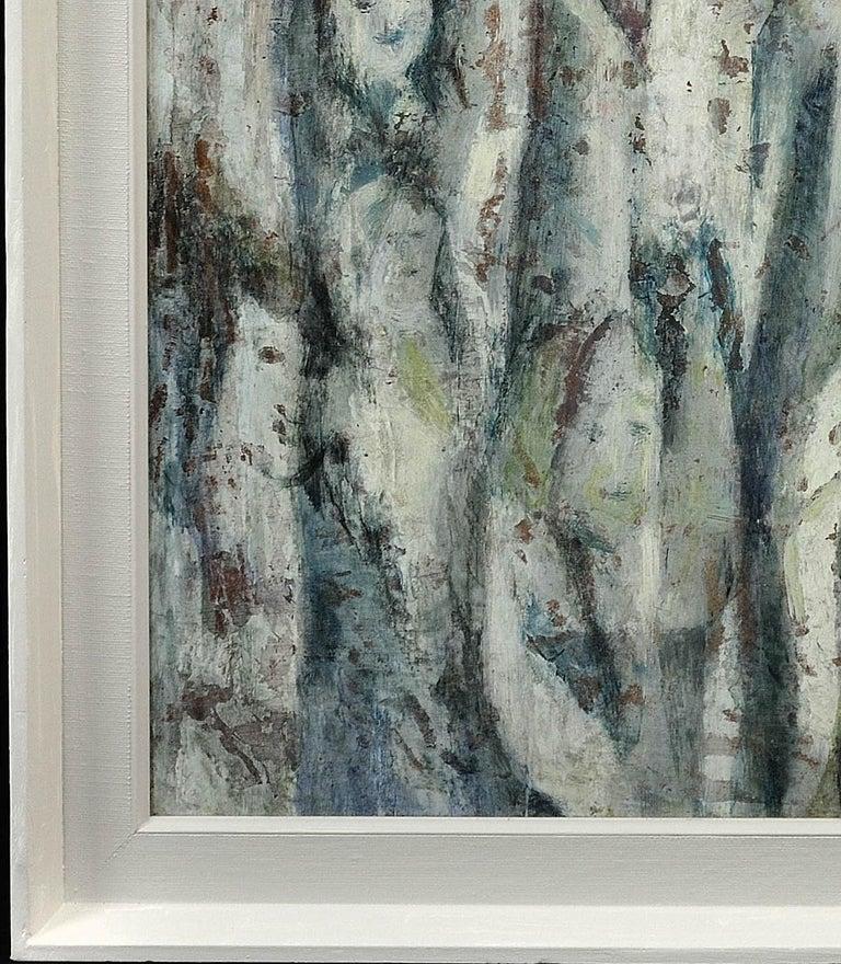 Enigma. Original Oil Painting. Eccentric & Bohemian. Modern British. Welsh. For Sale 3