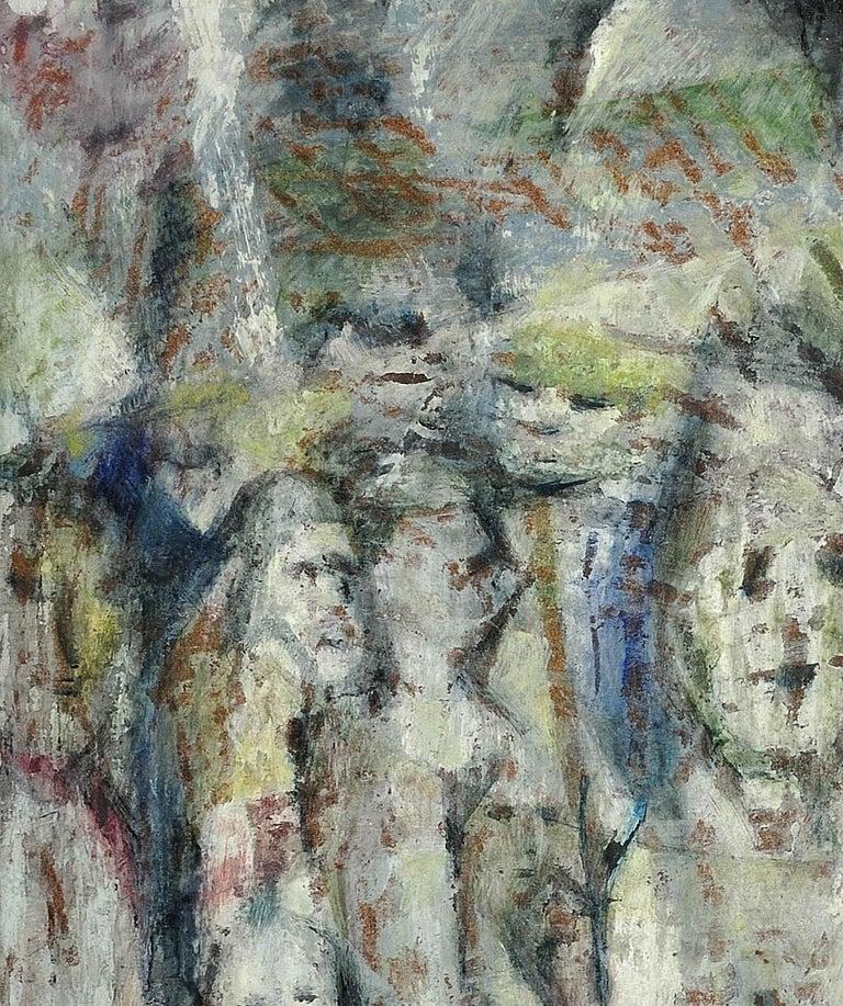 Enigma. Original Oil Painting. Eccentric & Bohemian. Modern British. Welsh. For Sale 4