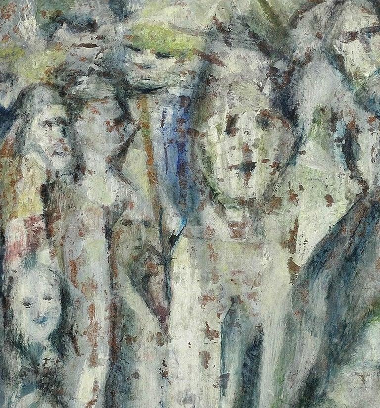Enigma. Original Oil Painting. Eccentric & Bohemian. Modern British. Welsh. For Sale 8
