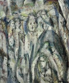 Enigma. Original Oil Painting. Eccentric & Bohemian. Modern British. Welsh.