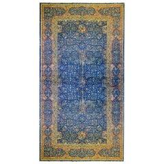 Mesmerizing Late 19th Century Agra Rug