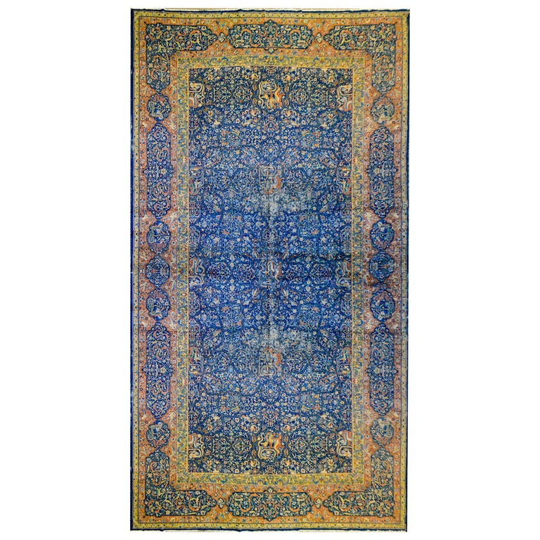 Mesmerizing Late 19th Century Agra Rug For Sale At 1stdibs