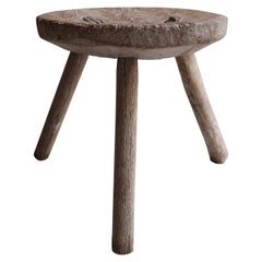 Mesquite Stool from Mexico, 1960s