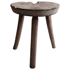 Mesquite Stool from Mexico
