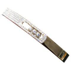 Messika Paris, 18 Karat Yellow Gold Bracelet Set with Diamonds