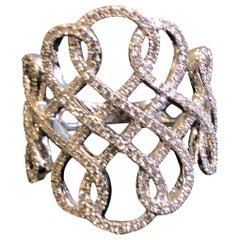 "Messika ""Promise"" Diamond Ring in 18 Karat White Gold"