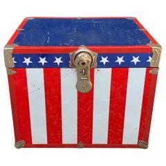 Metal, 1970s Stars and Stripes Roadie Box