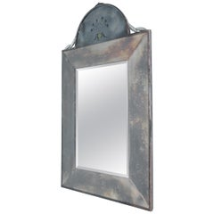 Metal and Glass Mirror