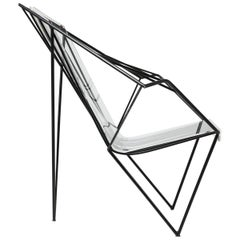 Metal and Perspex Chair