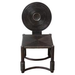 Metal Chair Sculpture, in Stock