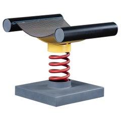 Metal Coil Stool