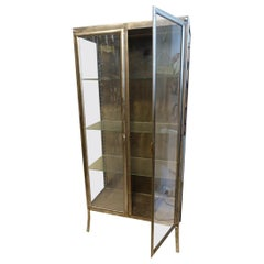 Metal Display Cabinet-Midcentury France
