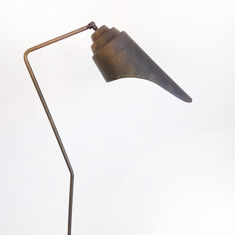 Metal Floor lamp by Diesel with Foscarini In Good Condition For Sale In Rijssen, NL