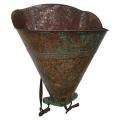 Metal Grape Gathering Basket