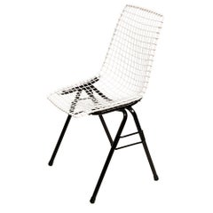 Metal, Industrial and Loft Chair, H. Sztaba, Poland, 1970s