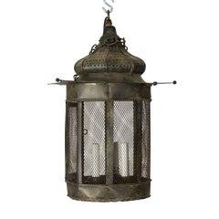 Metal Onion Domed Lantern