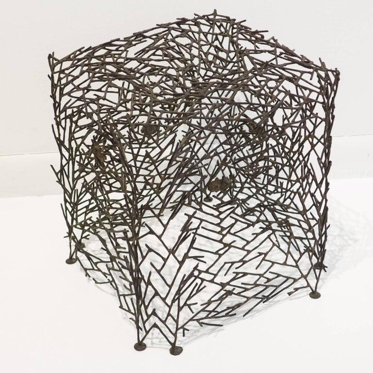 Mid-Century Modern Richard Filipowski Metal Sculpture,