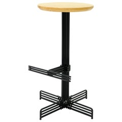 Metal Stick Counter Stool in Black by Bend Goods