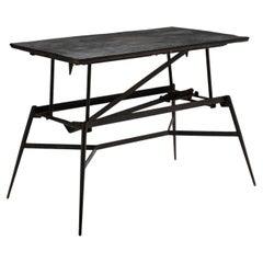 Metal System Table, France, Circa 1950