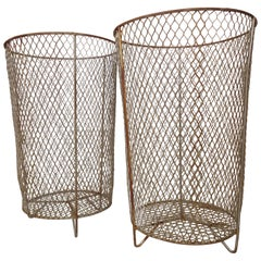 Metal Waste Basket