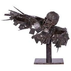 Metalwork Bust Sculpture