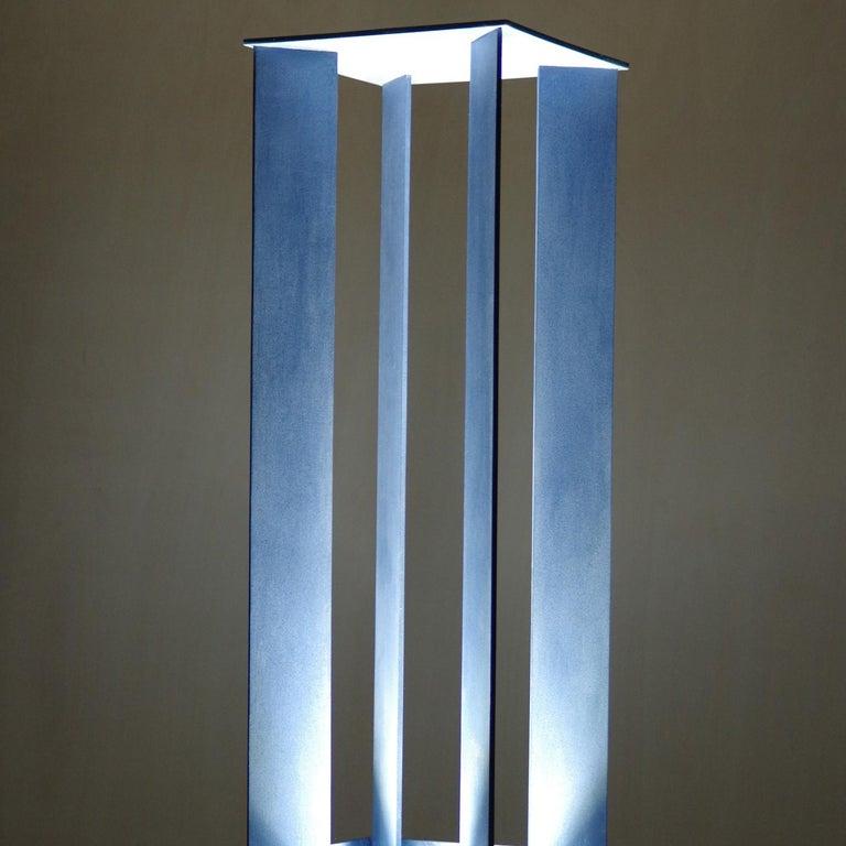 Italian Metascultura 1 Light-Sculpture by Giorgio Cubeddu For Sale