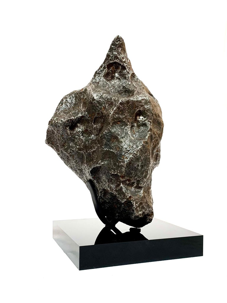 Iron meteorite. Campo del Cielo, Argentina. Circa 4.5 billion years old. Sold with bespoke acrylic display stand