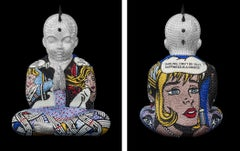 """PUNKBUDDHA large """"AS LONG AS I HAVE A SONG"""" feat Lichtenstein"""