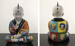 "PUNKBUDDHA large ""MARILYN XI"" feat Warhol"