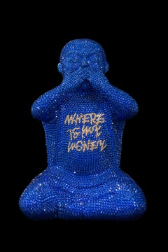 """""""WHERE IS MY MONEY"""" IN MAJESTIC BLUE by Metis Atash"""