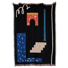 Metric Woven Throw Blankets