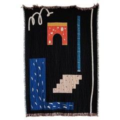 Metric Woven Throw Blankets