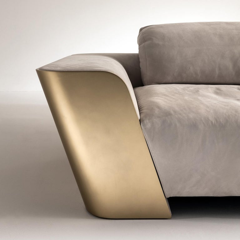 Modern Metropol Sofa by Cesare Arosio For Sale