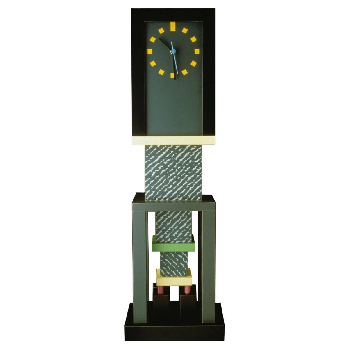 Metropole Clock, by George Sowden from Memphis Milano