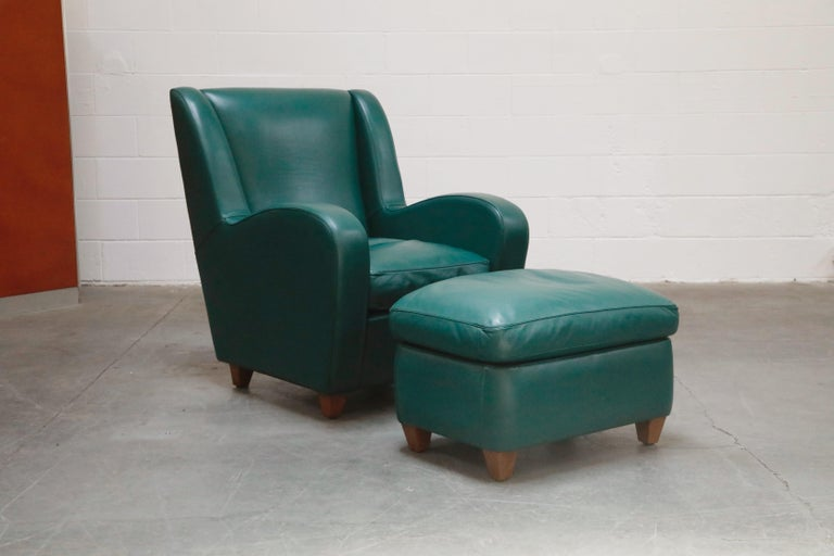 Post-Modern 'Metropolis' Armchairs Set by Poltrona Frau, 1992, Signed Numbered Editions For Sale