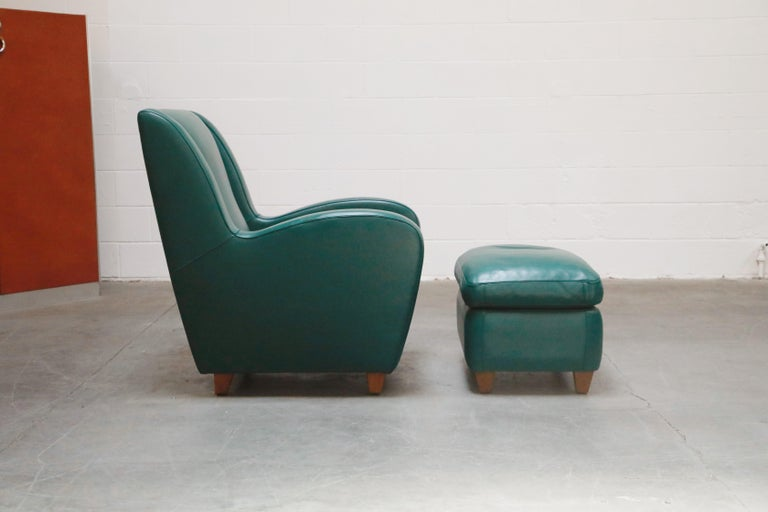 Italian 'Metropolis' Armchairs Set by Poltrona Frau, 1992, Signed Numbered Editions For Sale