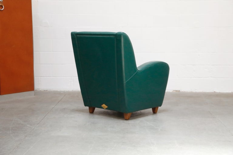 'Metropolis' Armchairs Set by Poltrona Frau, 1992, Signed Numbered Editions For Sale 2
