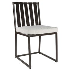 Metropolitan Dining Chair in Gold by Braid Outdoor