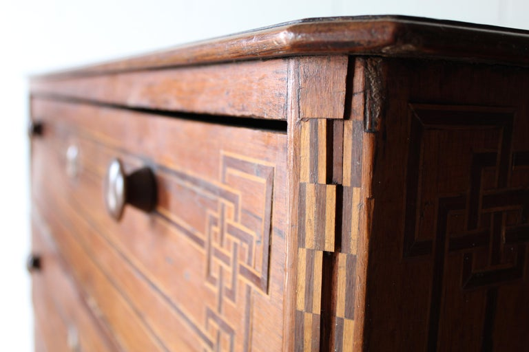 Mexican Art Deco Chest of Drawers For Sale 4