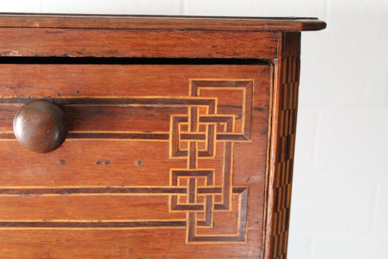 Mid-20th Century Mexican Art Deco Chest of Drawers For Sale