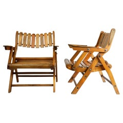 Mexican Folding Armchairs