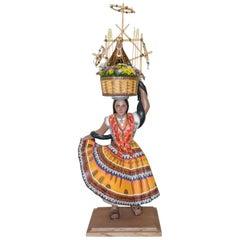 Mexican Folk Art Woodcarving Guelaguetza Folkloric Art Oaxaca