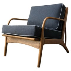 "Mexican Midcentury Lounge Chair, ""Malinche"", 1950s"