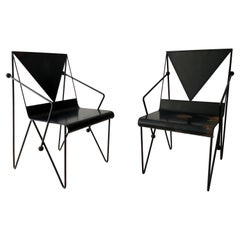 Mexican Modern Iron Chairs