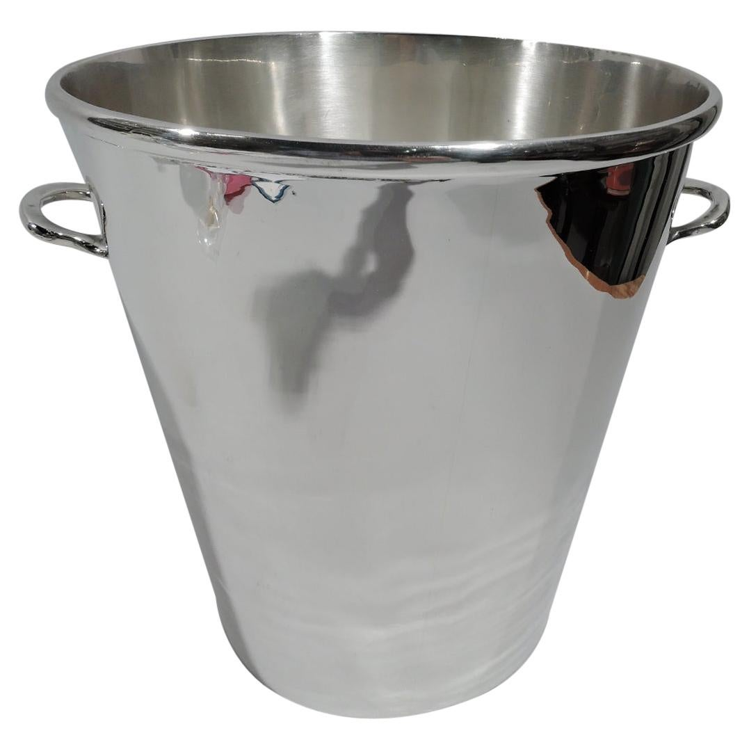 Mexican Modern Sterling Silver Sterling Silver Ice Bucket