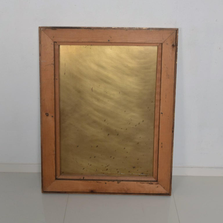 Late 20th Century Mexican Modernism Raul Monje Large Abstract Wall Art in Bronze For Sale