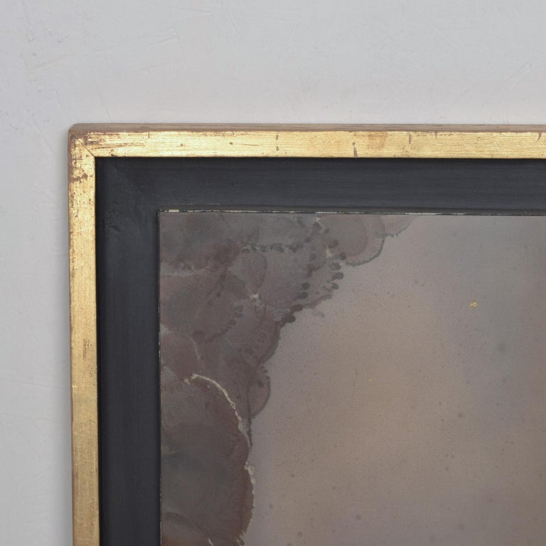 Metal Mexican Modernism Raul Monje Large Abstract Wall Art in Bronze For Sale