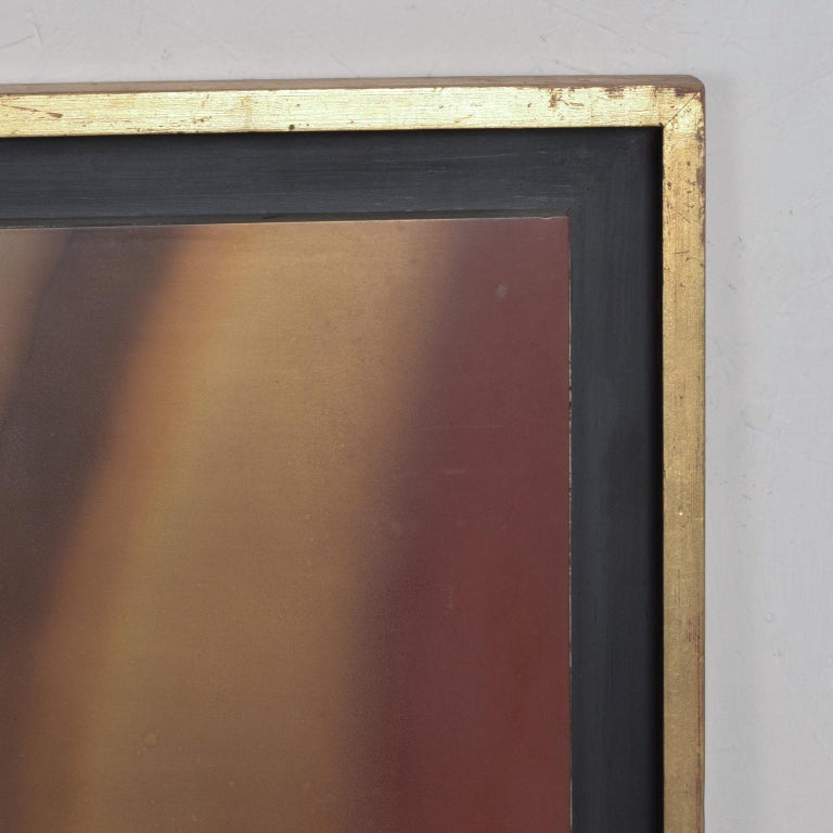 Mexican Modernism Raul Monje Large Abstract Wall Art in Bronze For Sale 1