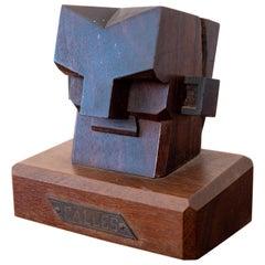Mexican Modernist Art Deco Sculpture of Plutarco Elías Calles